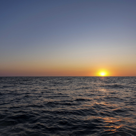 Sunset at Cleofus (photo Sam Shimizu-Jones)