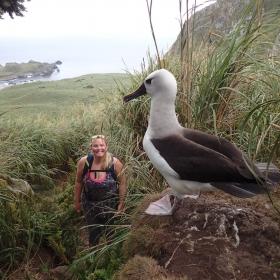 Katie and Albatross