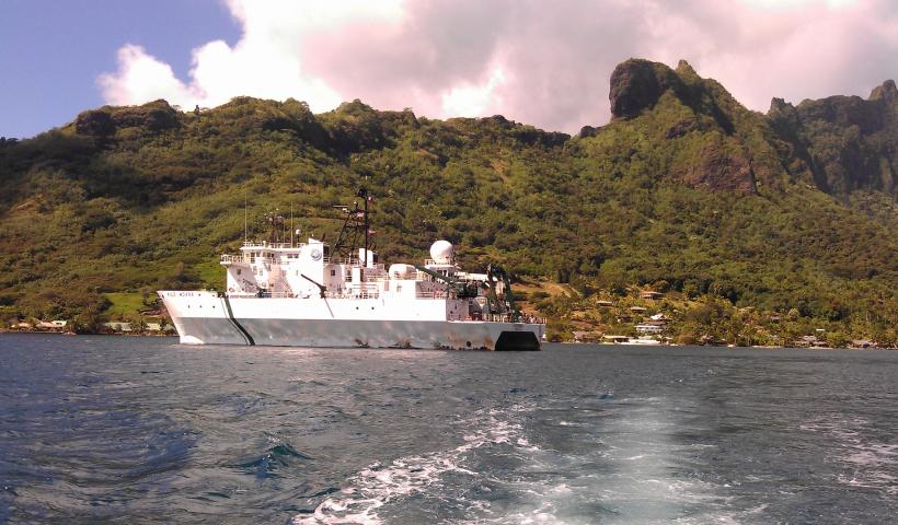 MCR LTER Cruise July 2014 aboard R/V Kilo Moana
