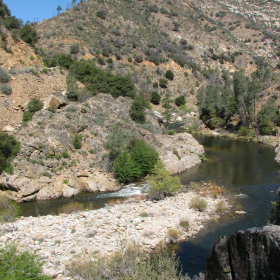 Johnsondale Bridge - North Fork Kern River